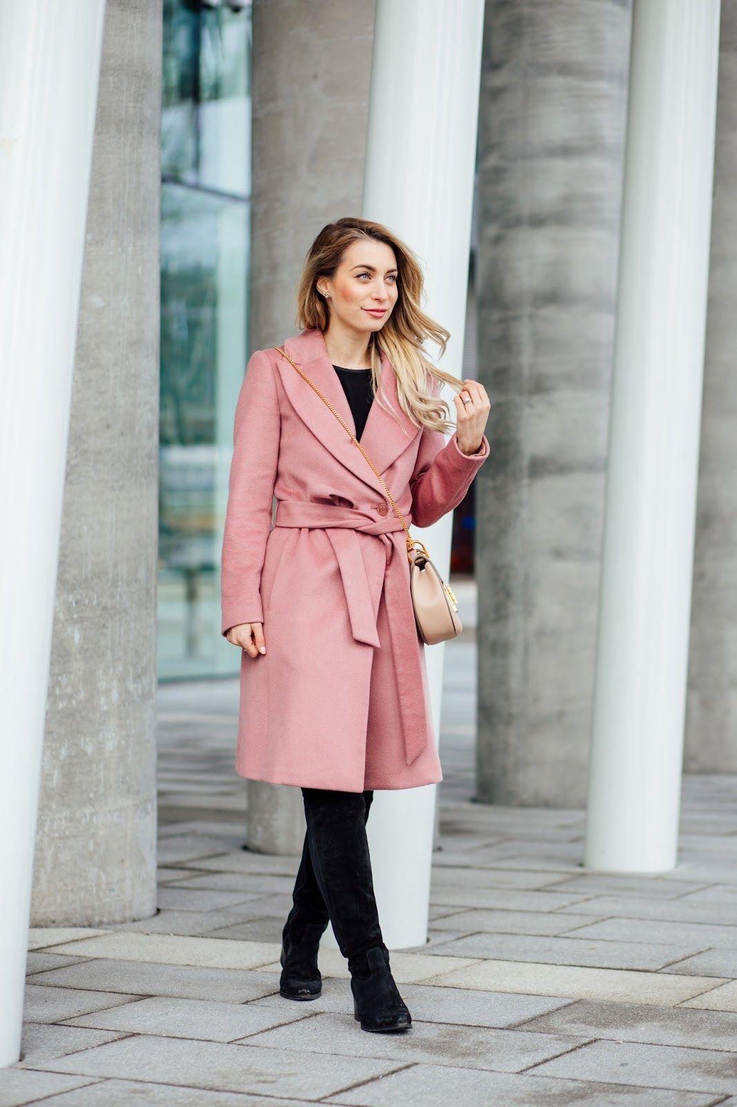 Ootd I Found My Pink Coat Pink Coat Coat Fashion [ 1600 x 1066 Pixel ]