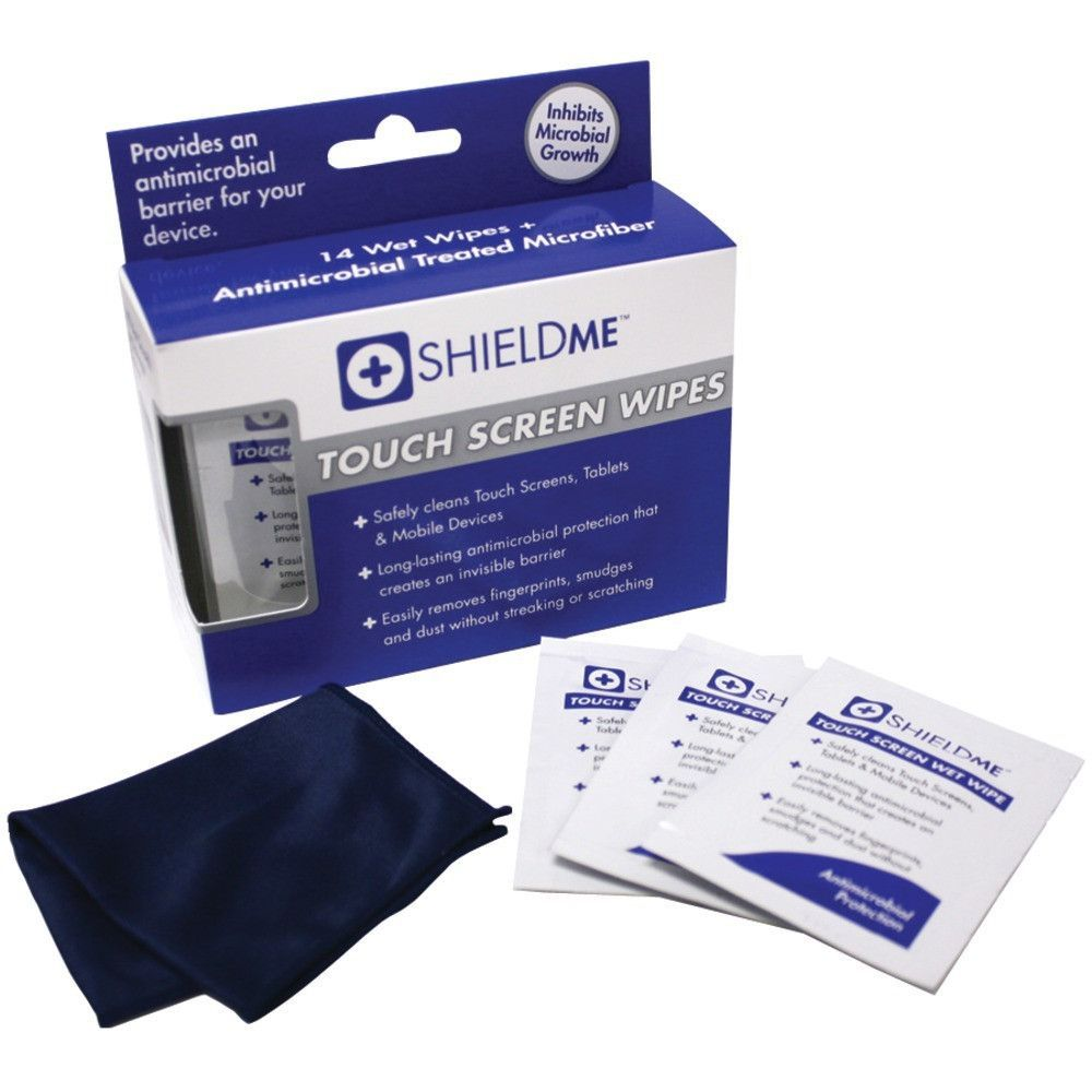 SHIELDME 1010 Touchscreen Cleaning Wipes