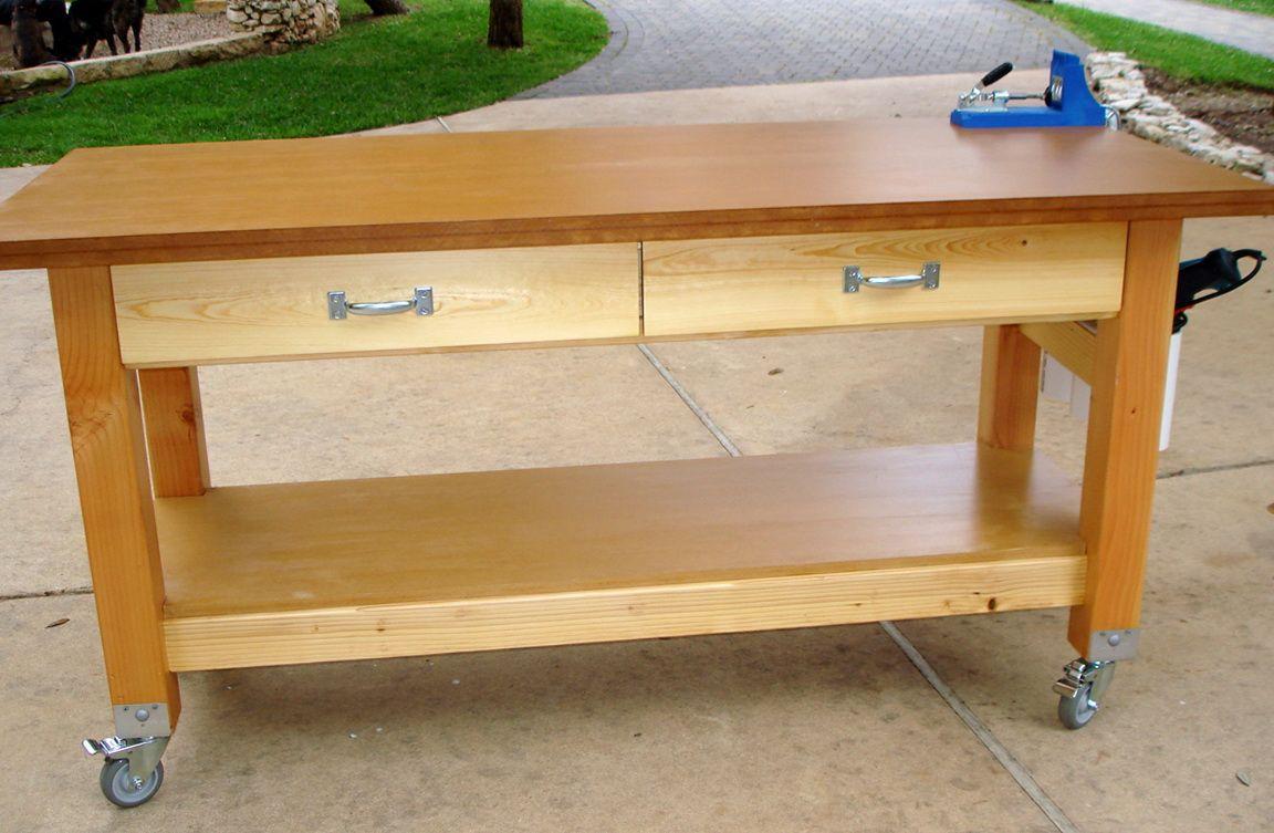Pin by cynthia johnson on wood working rolling workbench
