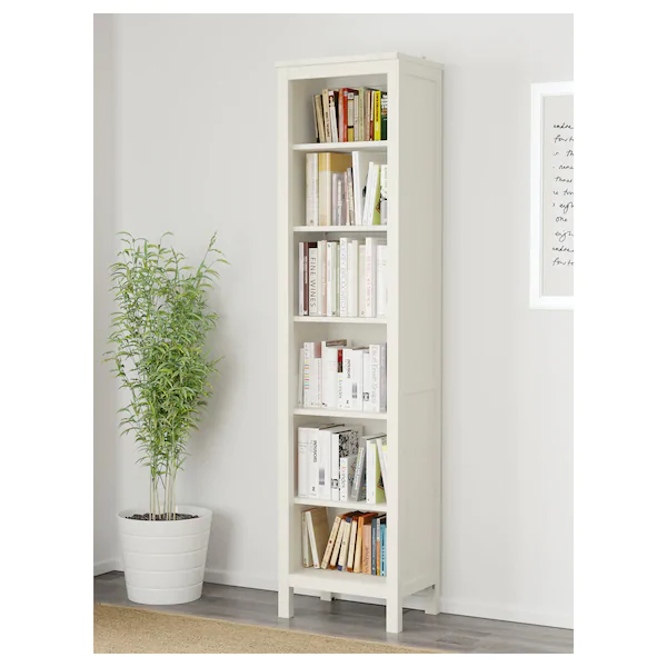 Hemnes Bookcase White Stain 19 1 4x77 1 2 Ikea Hemnes