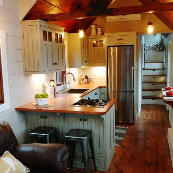 37' Luxury tiny home by Timbercraft - Tiny House Listings #tinyhome