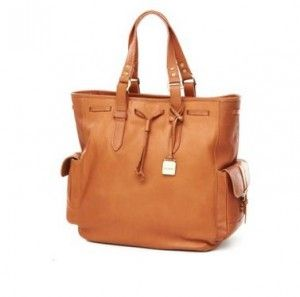 Leather isn't only fashionable, it's durable and easy to clean as well.