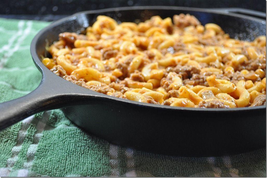 Chuck Wagon Mac Recipe
