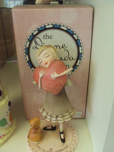 Found a few of Demdaco figurines on ebay.