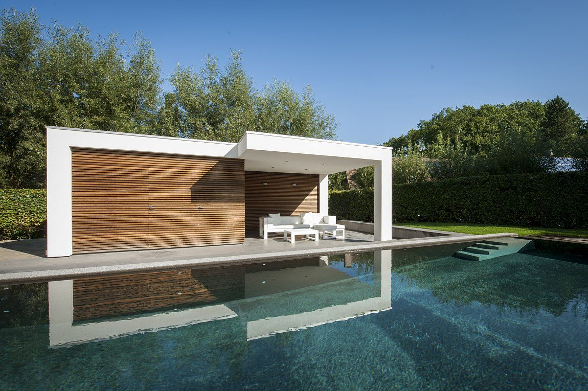 Modern poolhouse bogarden architecture in 2018 pool houses