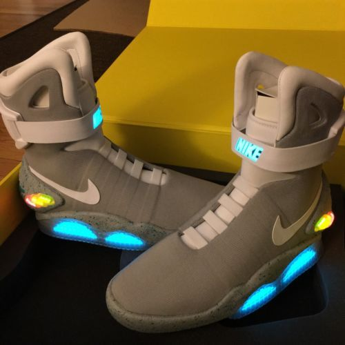 Nib 2011 Nike Air Mag Marty Mcfly Back To The Future Ii Bttf