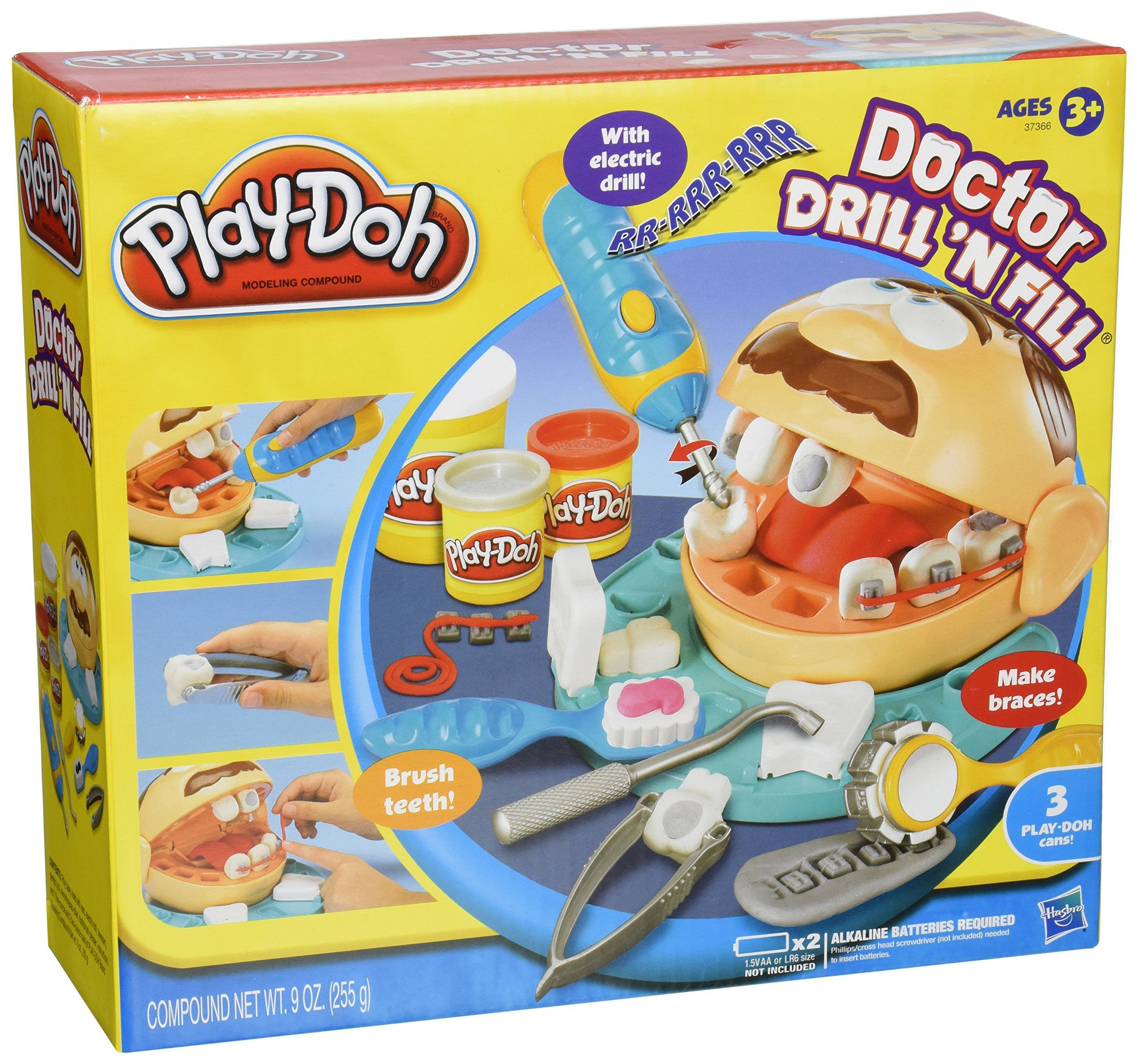 PlayDoh Doctor Drill 'N Fill Play doh, Hasbro play doh