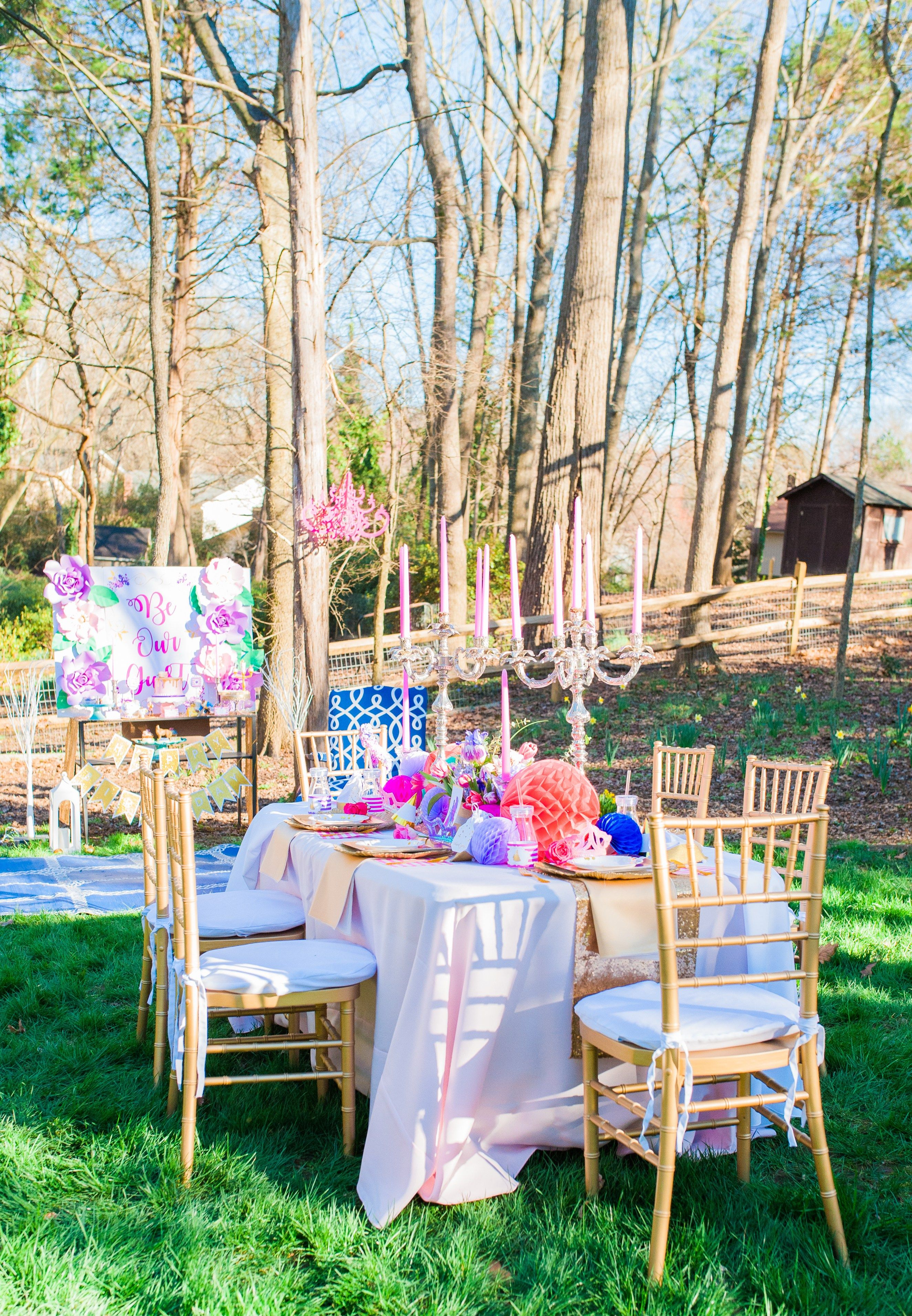 Host a garden party this spring and