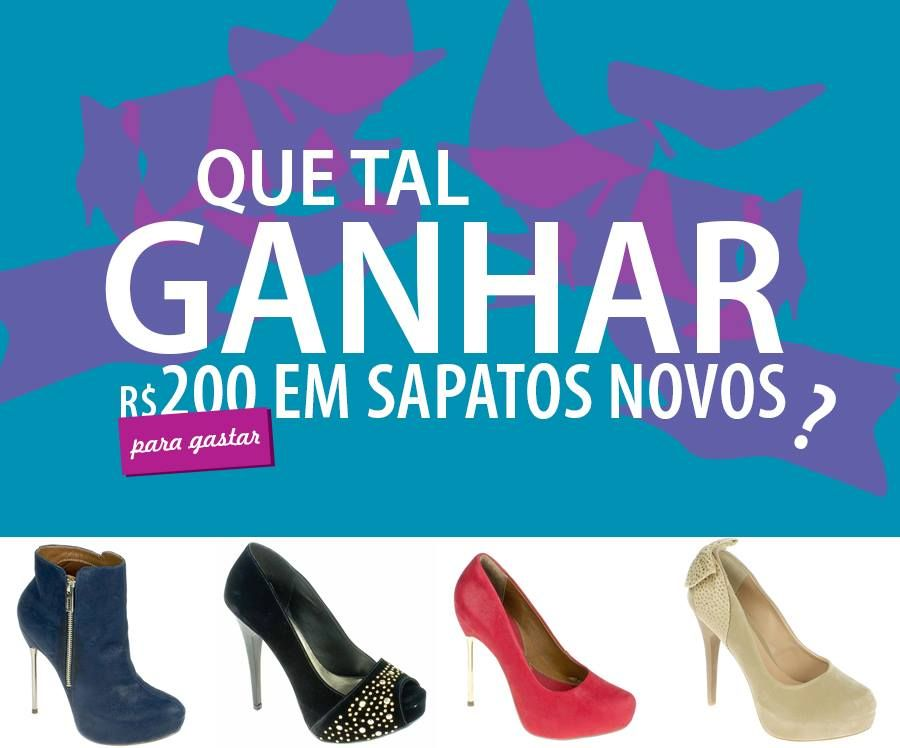 Que mulher não gosta de mudar o visual??? A #Shoebiz vai ter dar R$ 200 para você escolher o que quiser no site. Vem espiar ... http://blog.shoebiz.com.br/