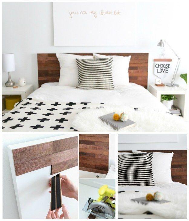 Usa tiras de madera con reverso adhesivo, llamadas StikWood, para ...