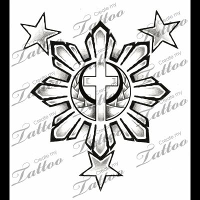 Filipino Flag 3 Stars And Sun Filipino Tattoos Filipino Flag Philippines Tattoo