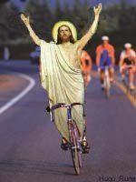 Christ On A Bike Jesus Jesus Memes Christ