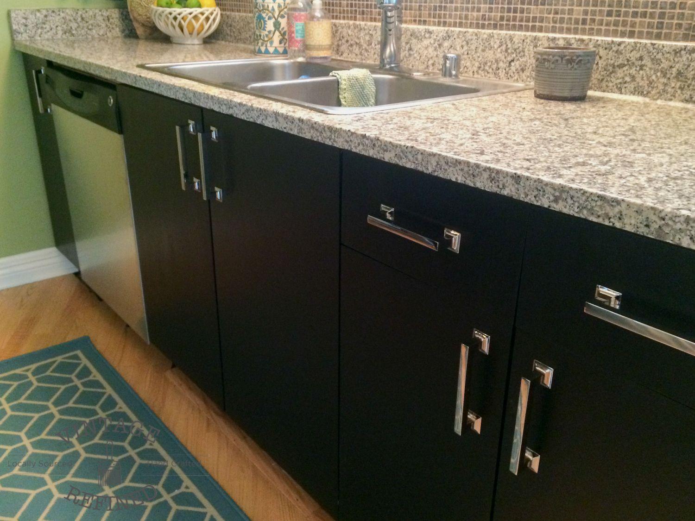 Gel Paint Kitchen Cabinet