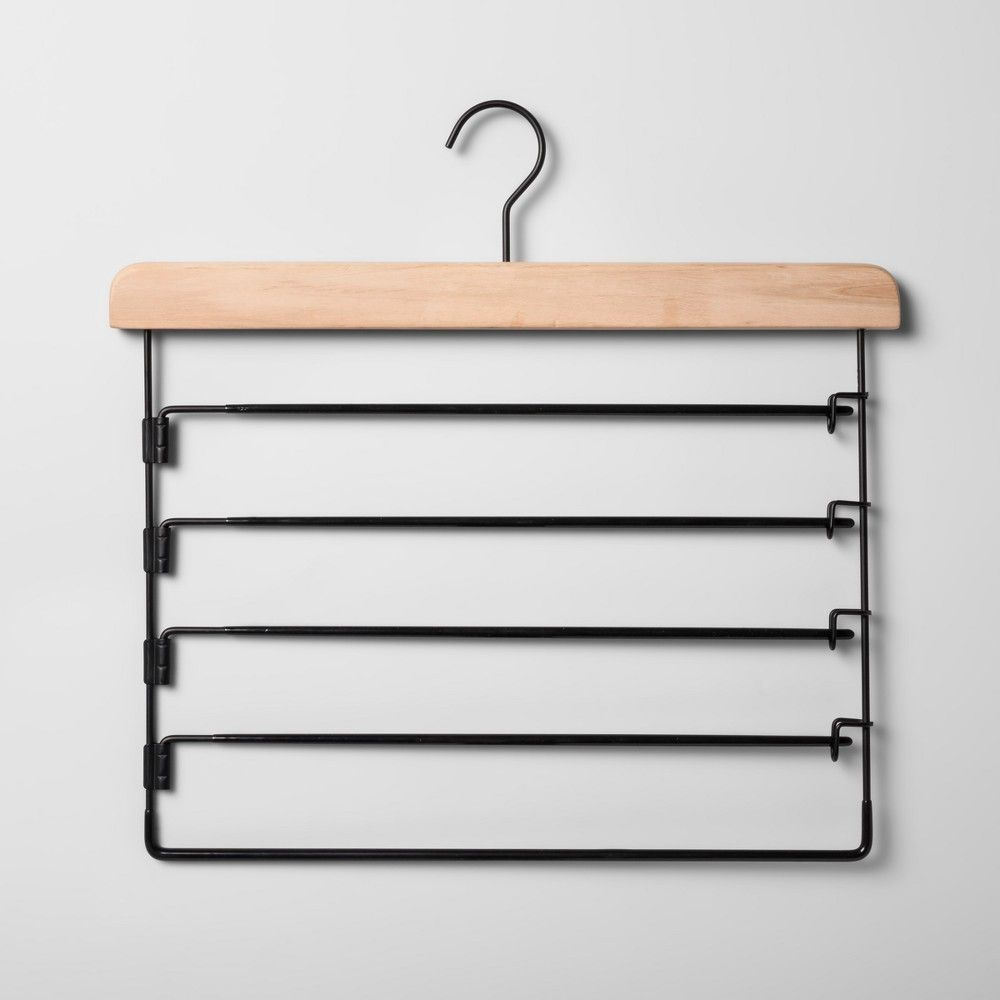 30 Pack Smooth Finish Solid Wood Coat Hanger with 360/° Swivel Hook and Precisely Cut Notches for Camisole High-Grade White Wooden Suit Hangers with Non Slip Pants Hanger Bar Clothes Hangers Pants