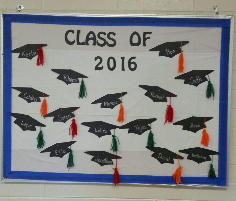 Preschool graduation bulletin board graduation - Kindergarten graduation decorations ...