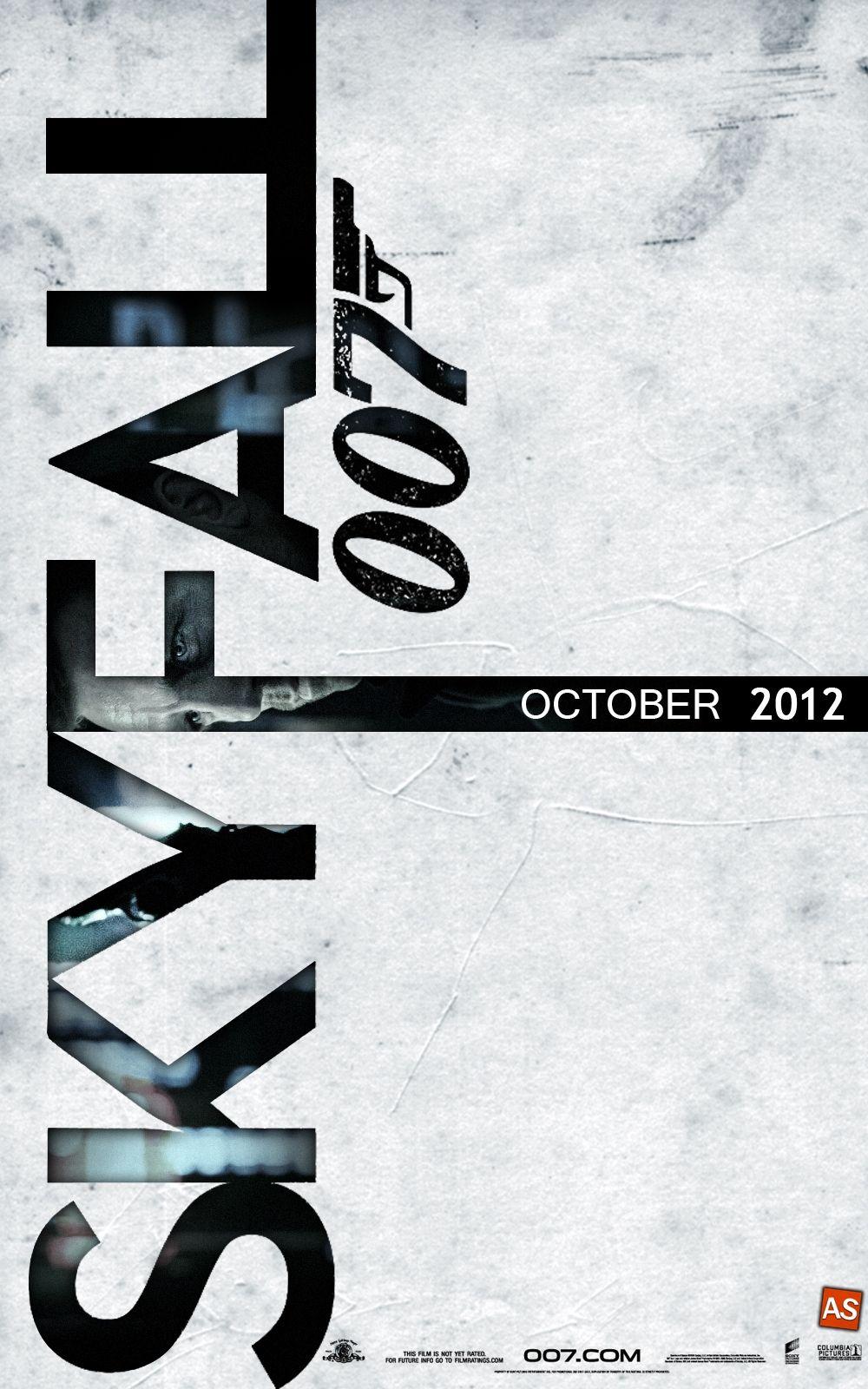 James Bond iPhone Wallpaper ID Skyfall, Cinema posters