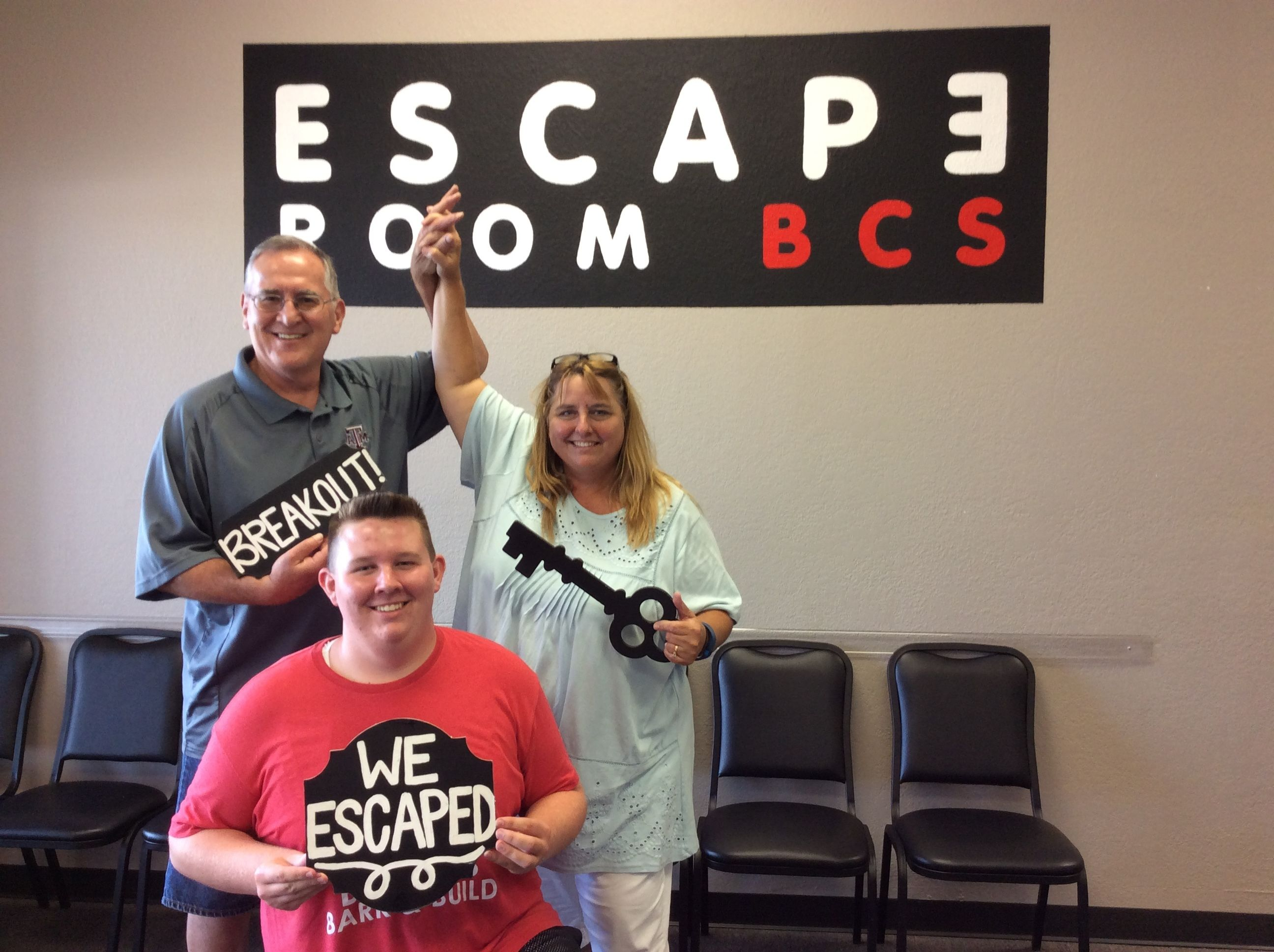 This family escaped Breakout in 44 minutes!