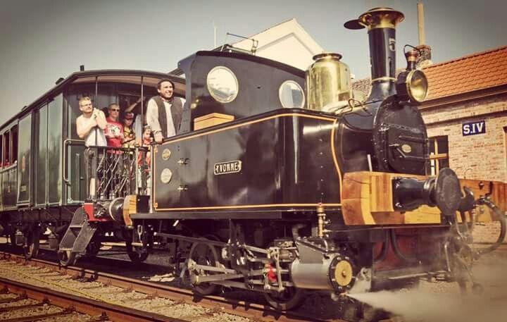 Yvonne oudste trein van Belgie
