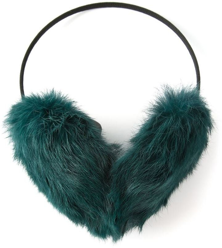 Meteo By Yves Salomon Ear Muffs. Cozy WinterWarm And CozyWinter AccessoriesWomen  ...