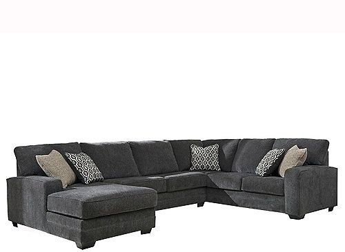 the wetzel 3 piece sectional sofa is a lovely contemporary piece that will add sophistication - Canape Angle Convertible Cdiscount1565