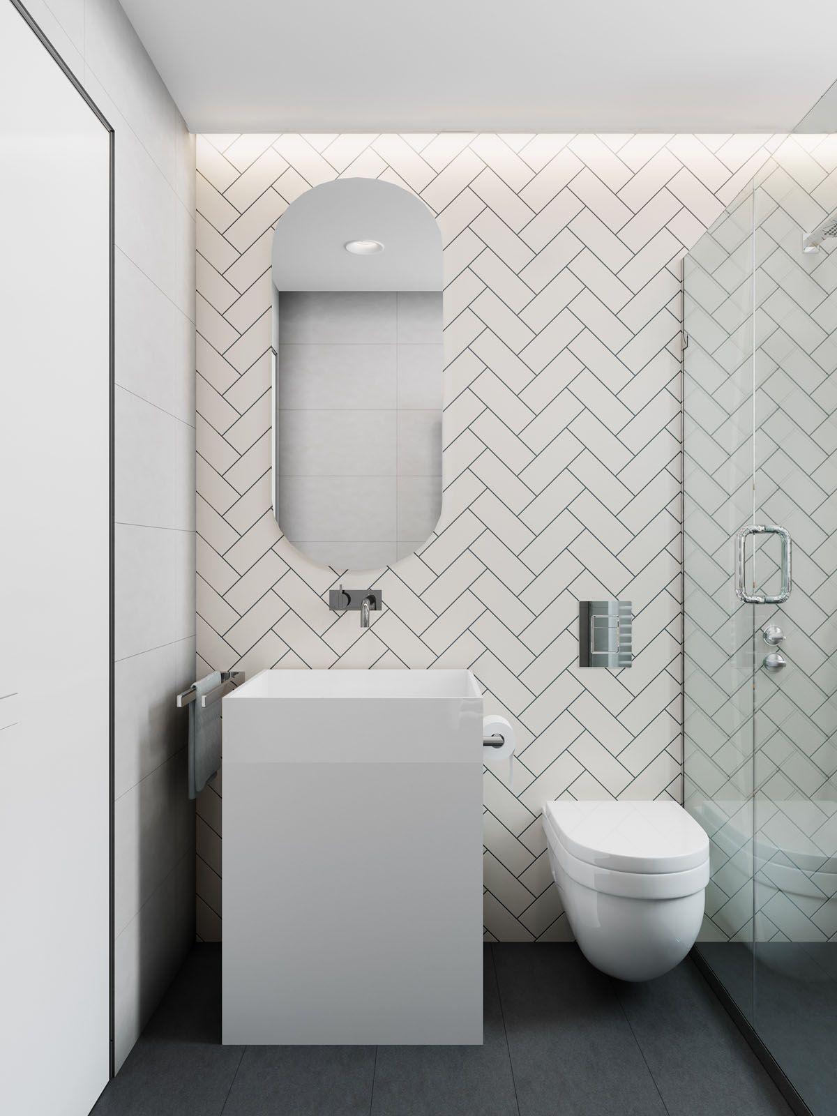 2 Simple Modern Homes With Simple Modern Furnishings Bathroom Design Small Modern Latest Bathroom Tiles Design Interior Design Bathroom Small