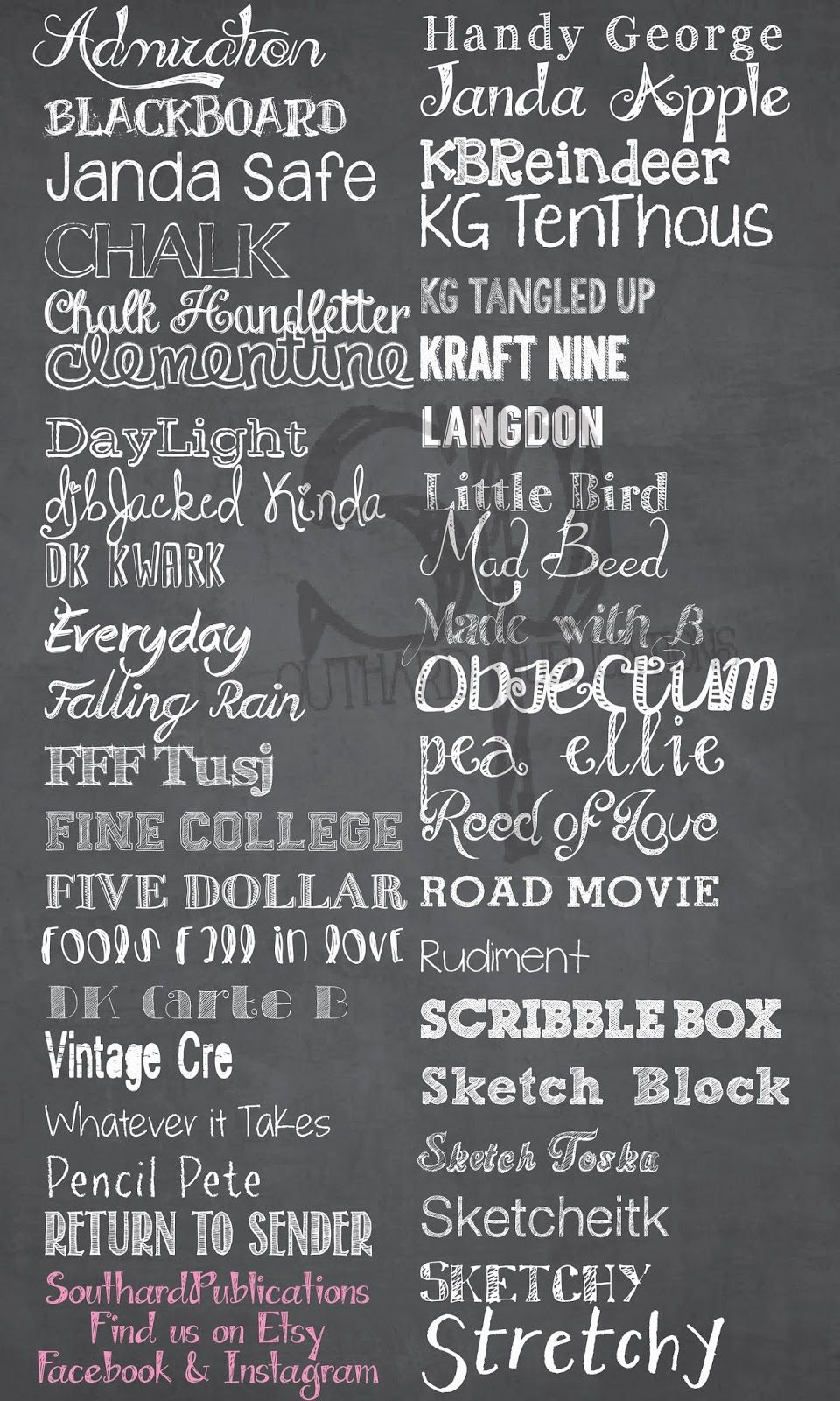 Free Chalkboard Fonts Chalkboard Fonts Free Chalkboard Fonts