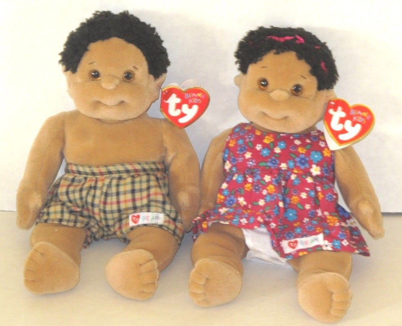 Beanie Kids 7111  Cutie And Rascal Ty Beanie Kids Doll W Tags - New -  BUY  IT NOW ONLY   16.95 on eBay! 1576efd1cd5