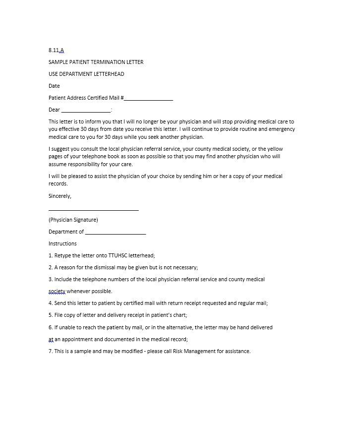 termination letter broadband sample contract vendor globe Home - employee termination letter template