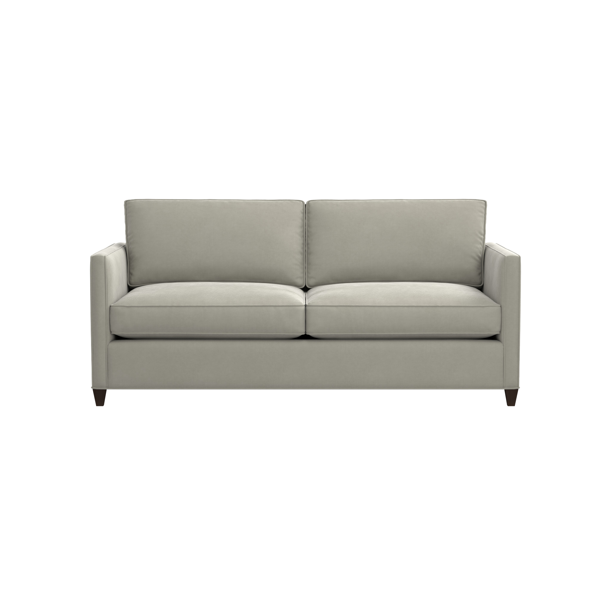 Shop Dryden Small Modern Sofa For A Bit Of Polish And Classic