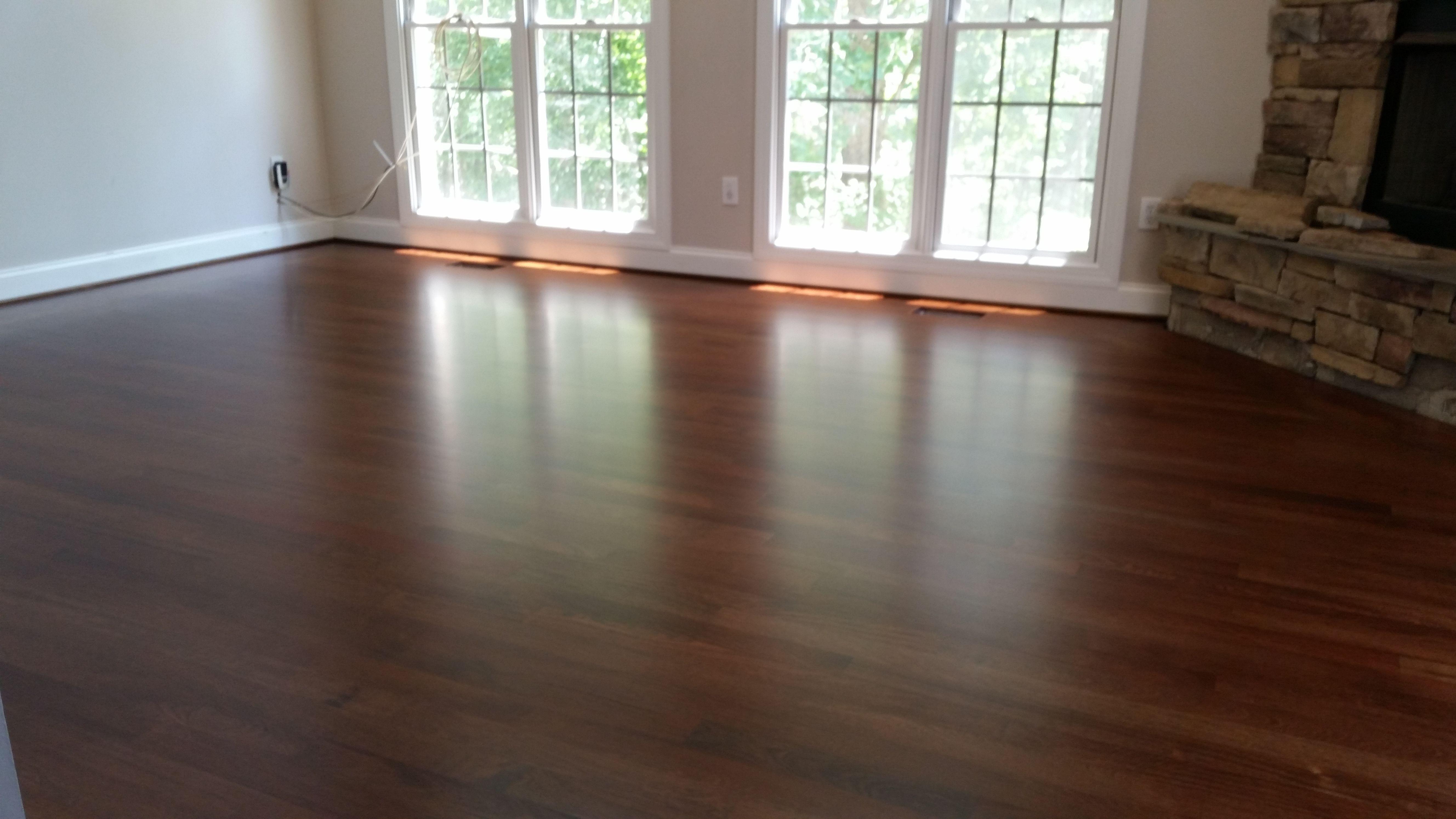 Brazilian ebony hardwood flooring - Jacobean Stain On Brazilian Cherry Hardwood Floors