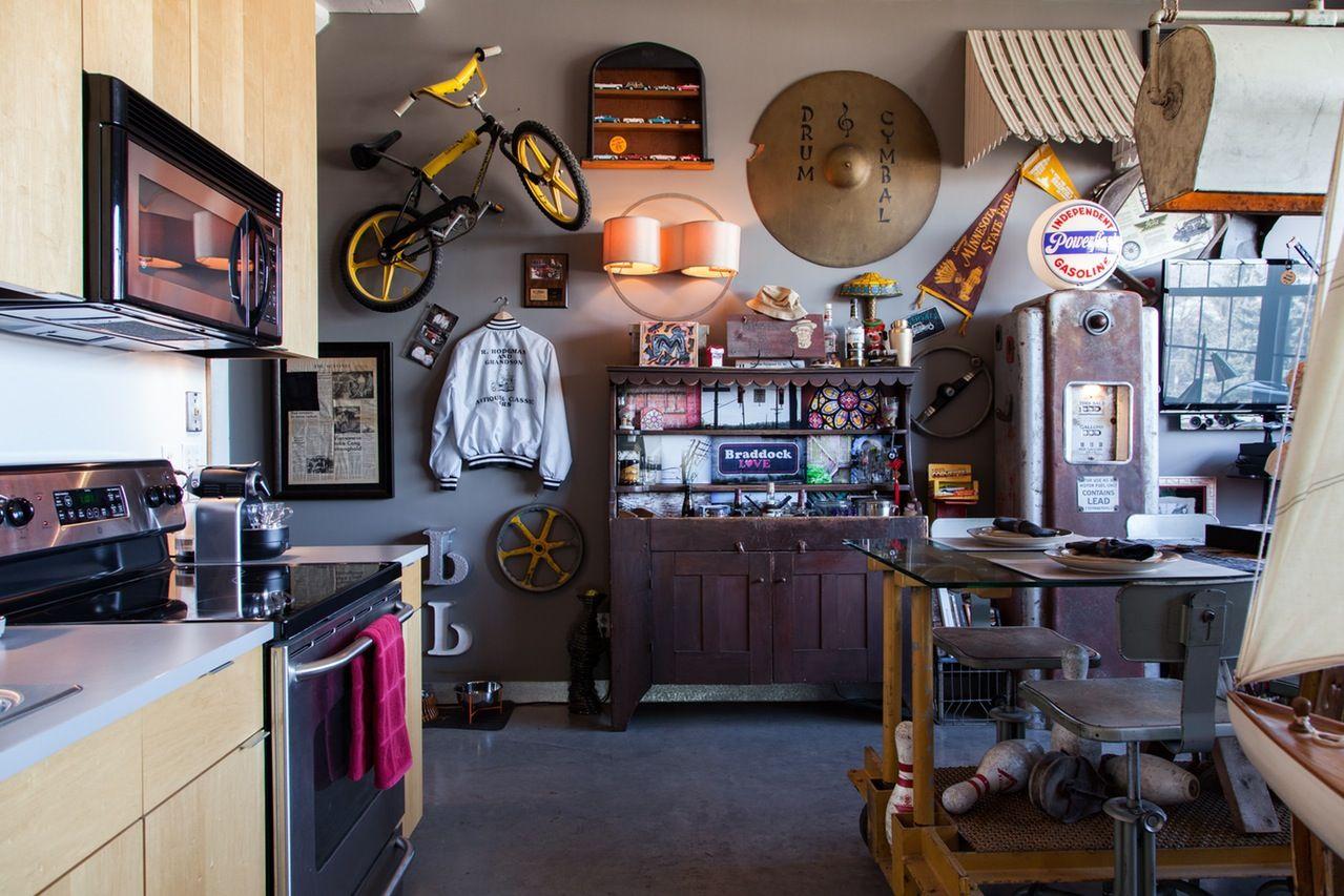 An Industrial Minneapolis Loft of Memories