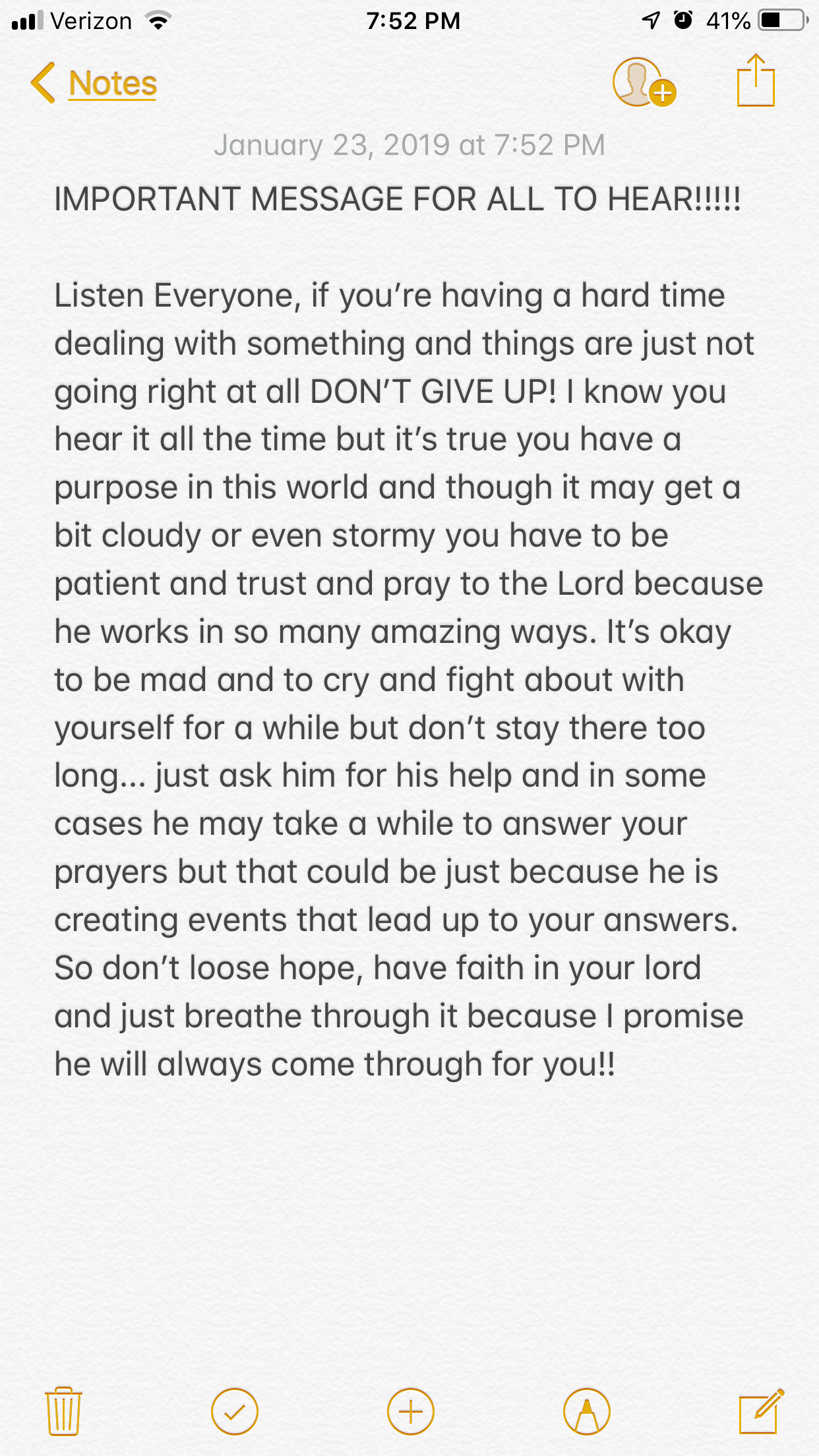 Read This Important Message For When You Re Feeling Down