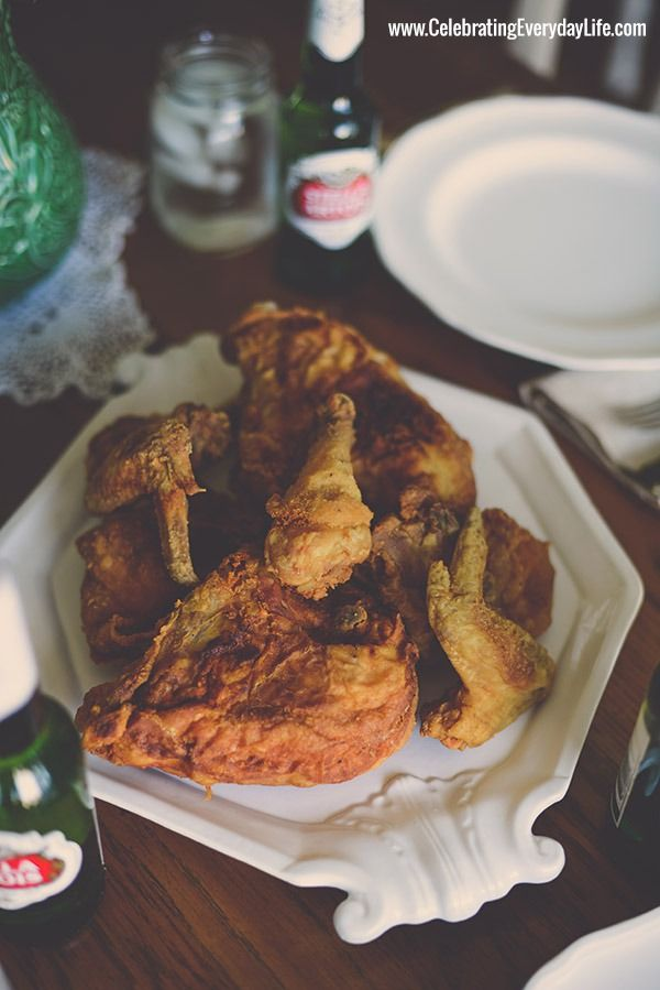 Grandma's Fried Chicken, by Celebrating Everyday Life