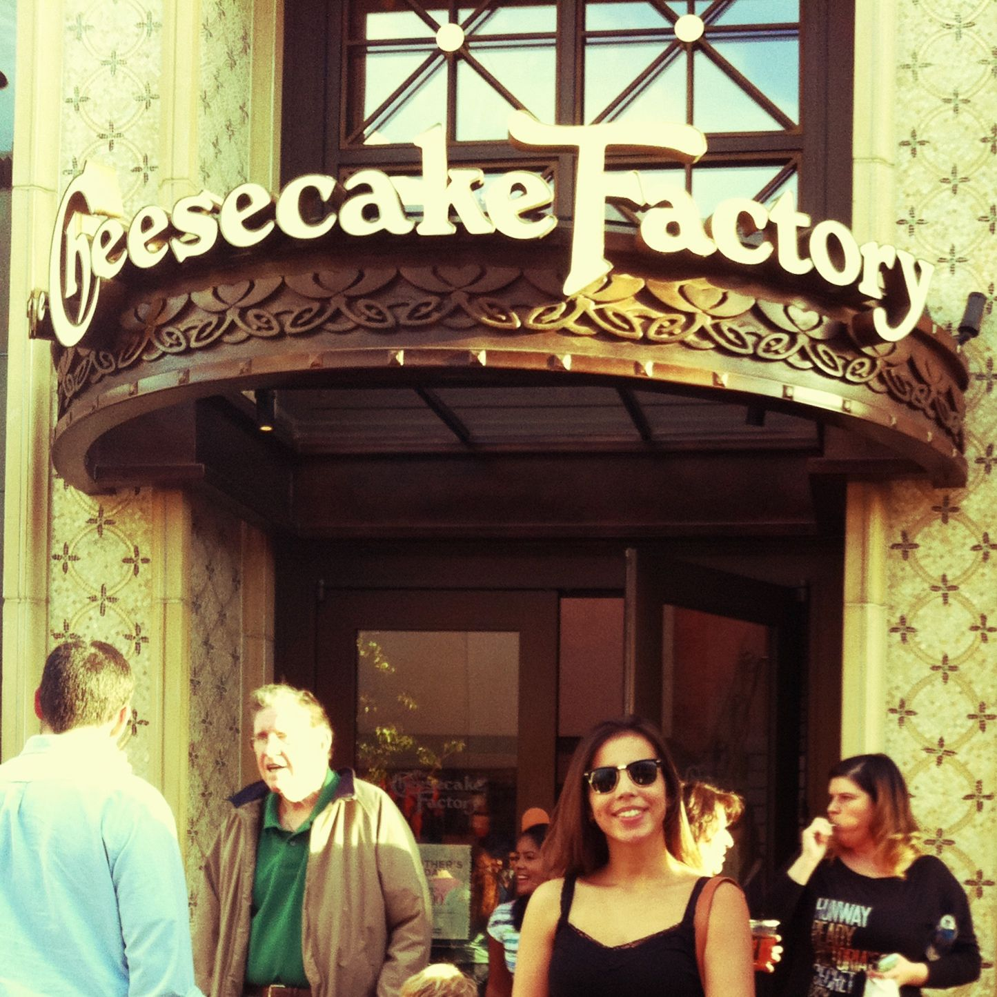 Cheesecake Factory in LA