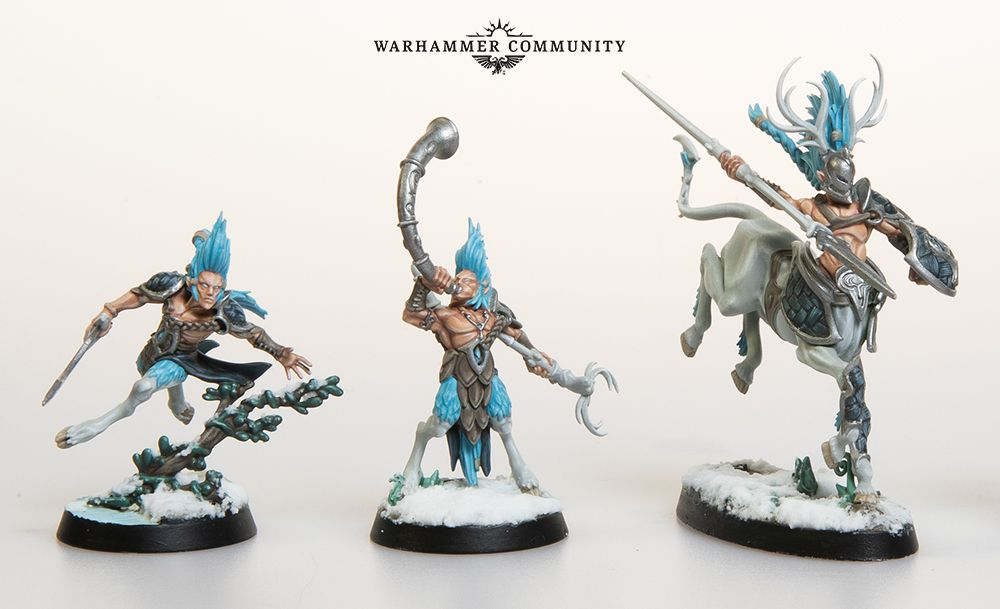 The Colours Of Beastgrave Warhammer Community Warhammer Sci Fi Miniatures Warhammer Wood Elves