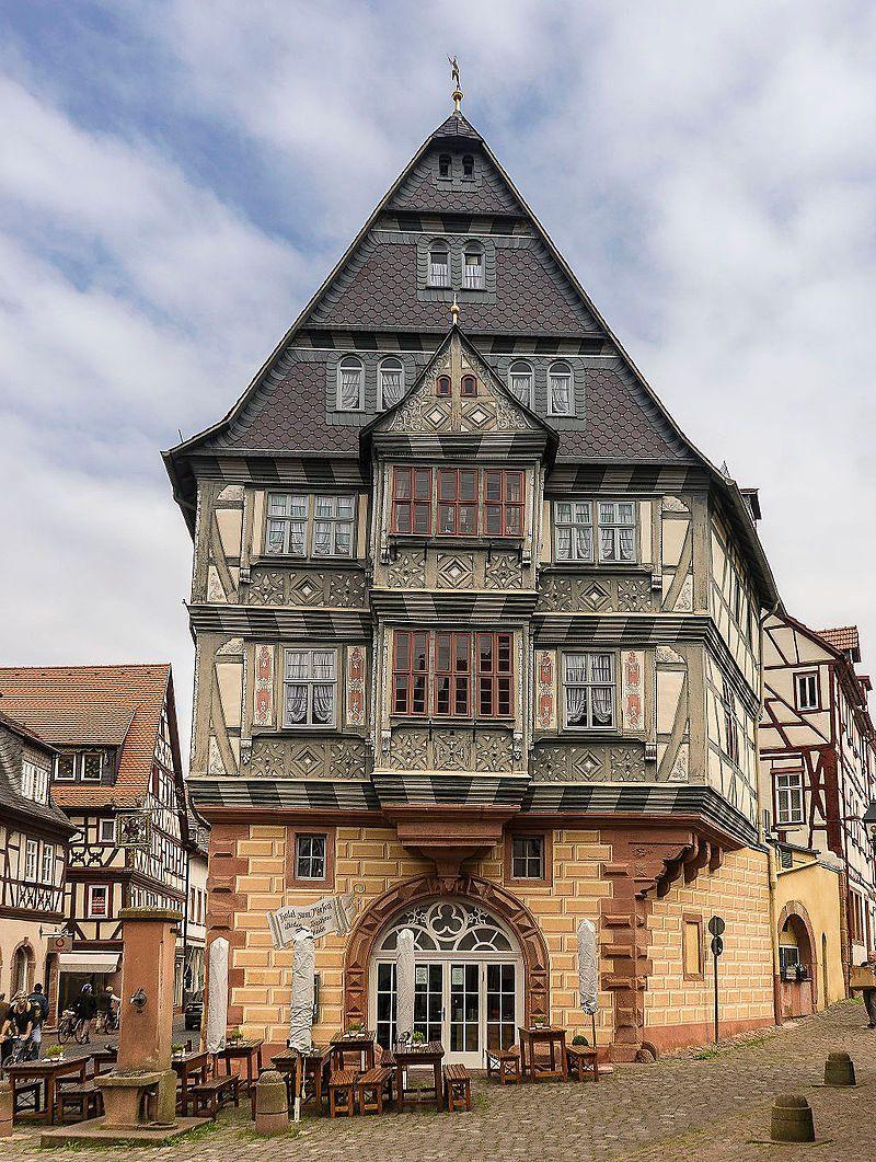 "The ""Zum Riesen"" hotel in Miltenberg, Germany. Zum Riesen is one of the oldest hotels in Germany, dating back to at least 1411. https://t.co/fpAxkgiaj3"