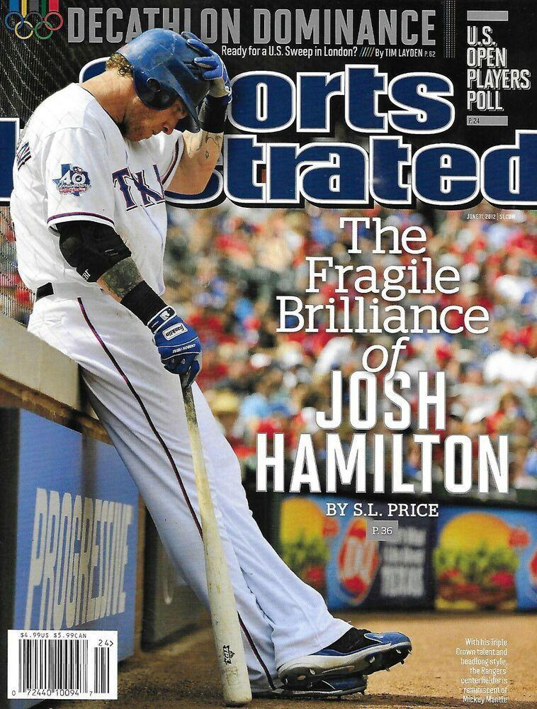 Sports Illustrated Magazine Josh Hamilton Manny Pacquiao