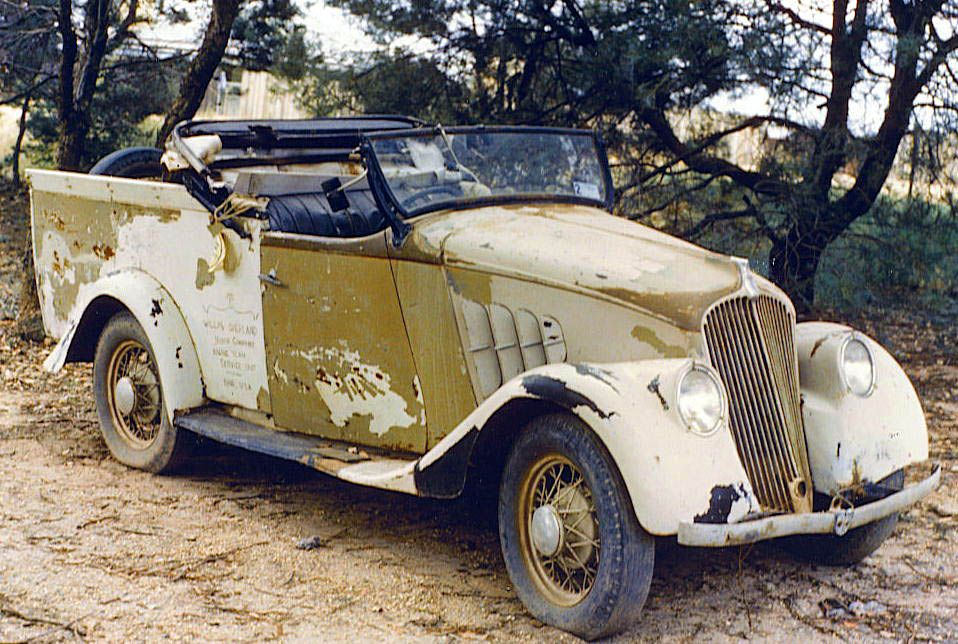 1936 Willys Roadster ute Australia. | I am going to restore it ...