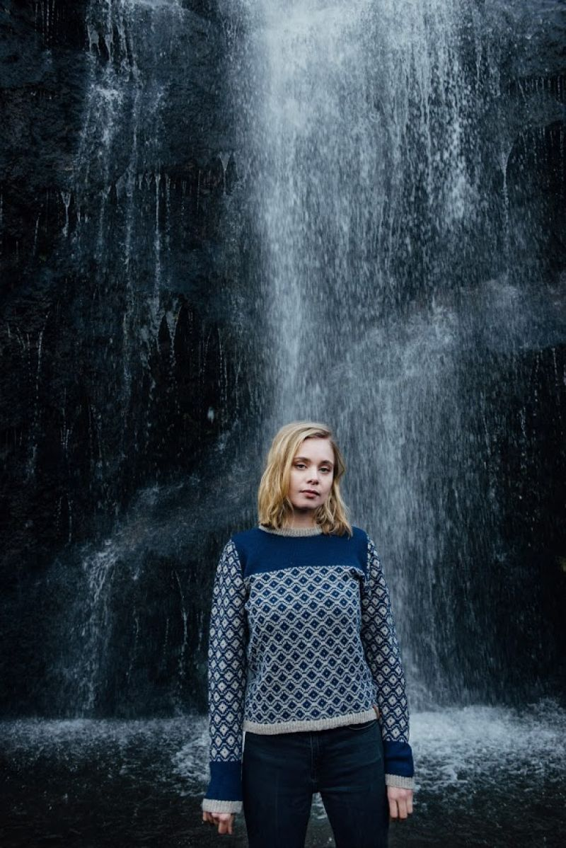 Elly sweater by Navia from The Island Wool Company- Faroese By ...