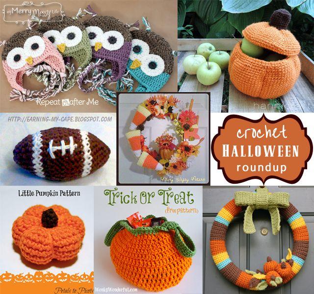 Fall And Halloween Crochet Roundup Halloween Crochet Crochet And