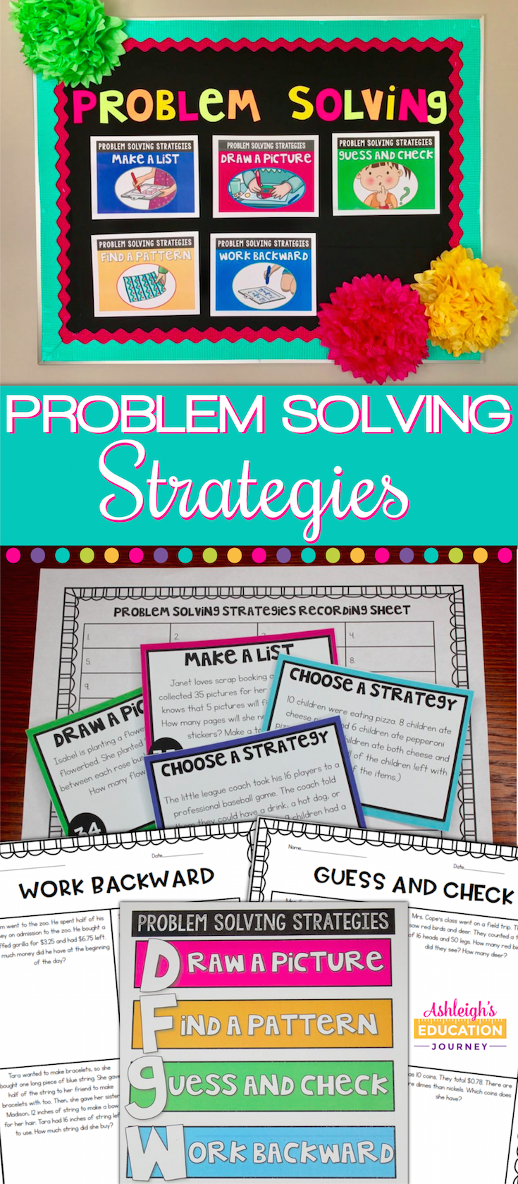 Problem solving is a huge component of my math instruction. I ...