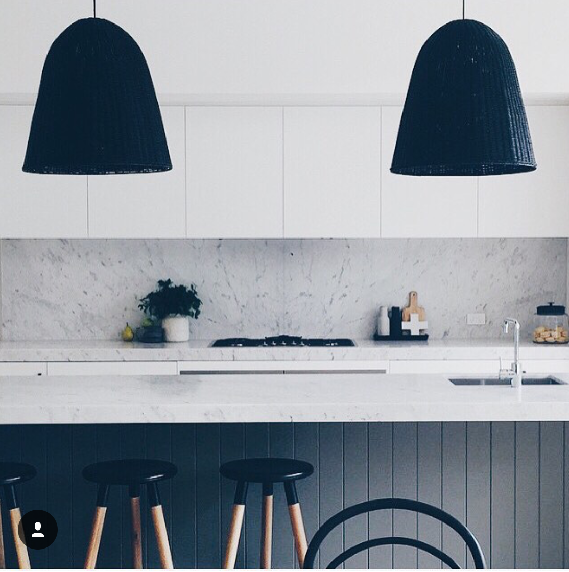 minimalist monochrome kitchen kitchens kitchen kitchen design kitchen lighting. Black Bedroom Furniture Sets. Home Design Ideas