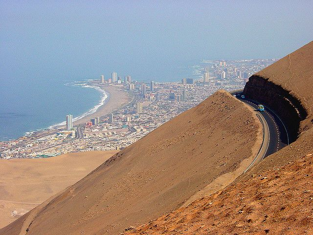 Iquique. this was an amazing drive.