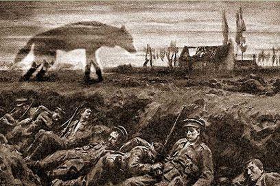 El misterioso perro infernal de la Primera Guerra Mundial