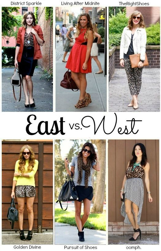 east vs west [coast] style. leopard.