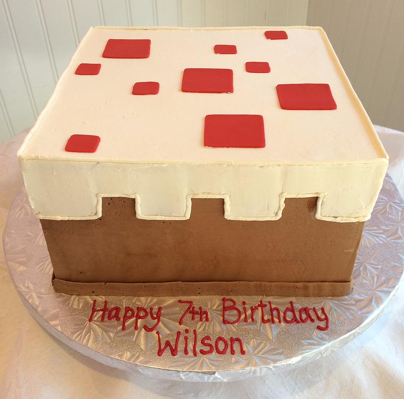 Sweetpea Cakes Bakery Crystal Lake Cake Cake Desserts Minecraft Birthday Cake