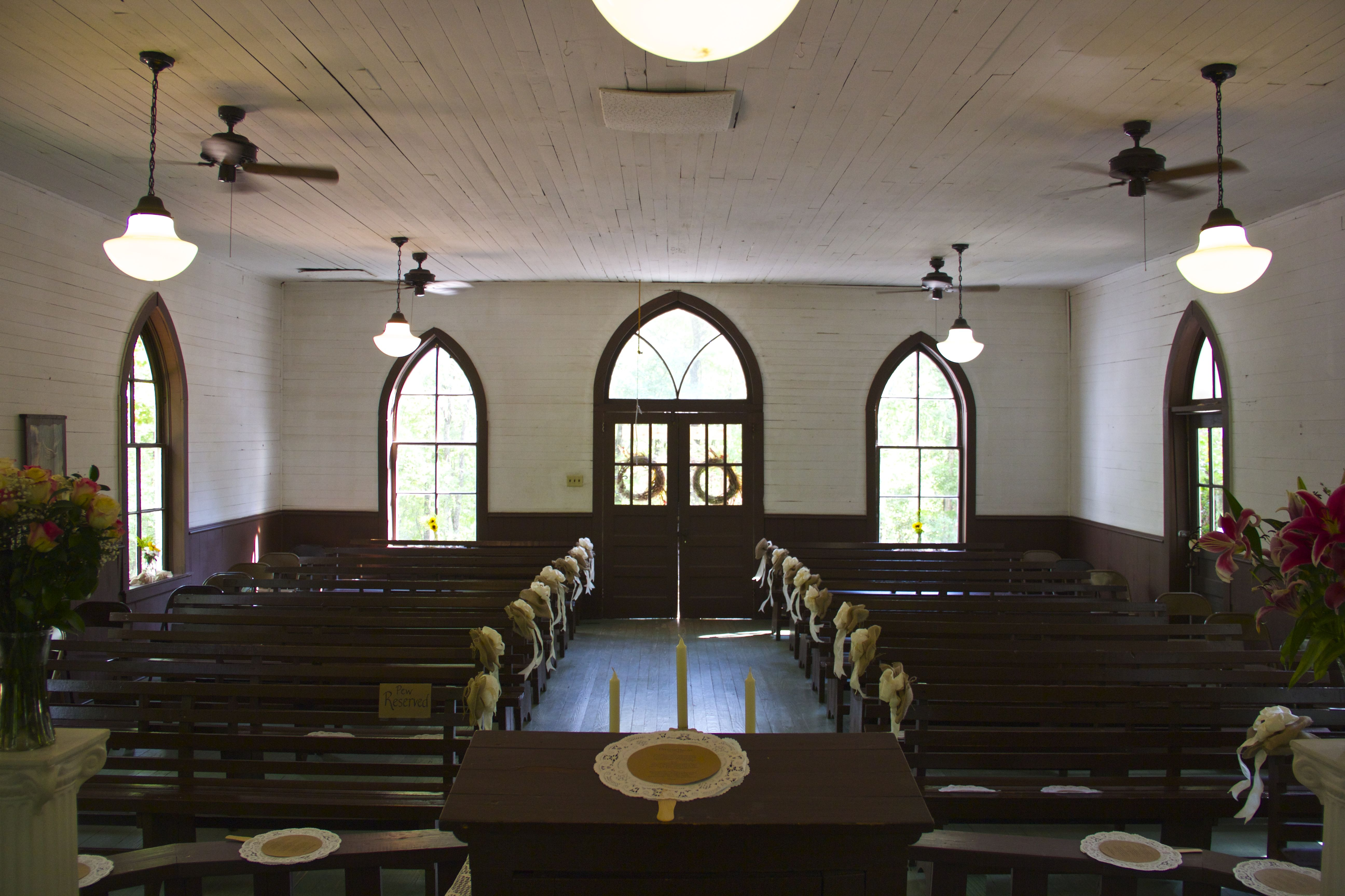 Inside Of The Country Church At Tannehill State Park Thisistannehill