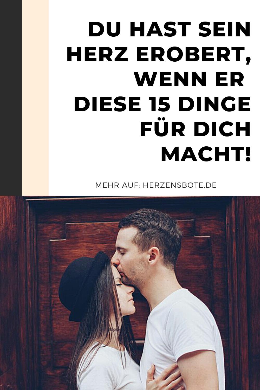 15 Anzeichen, dass er dich liebt! in 2021 | Körpersprache