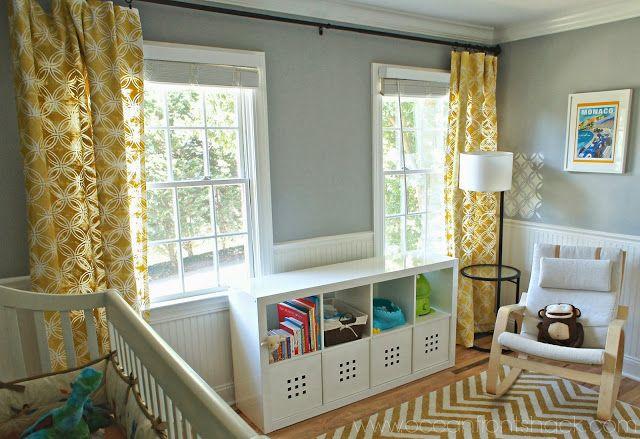 multiple windows curtain ideas