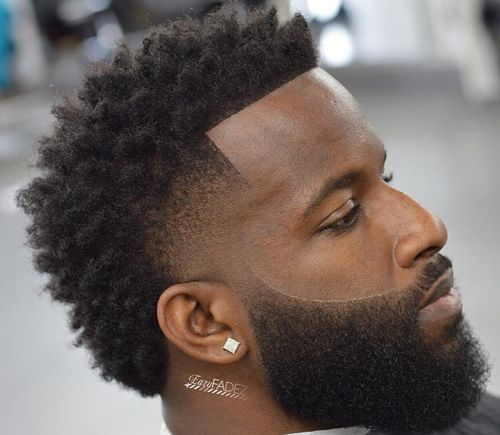 tapered afro 30 cool black